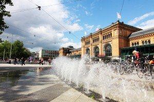 central station in Dortmund, Germany
